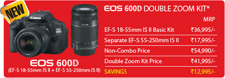 Canon Announced Festival Offers on EOS Camera Kit