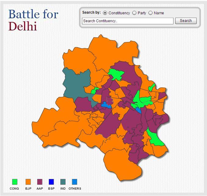 delhi graphics