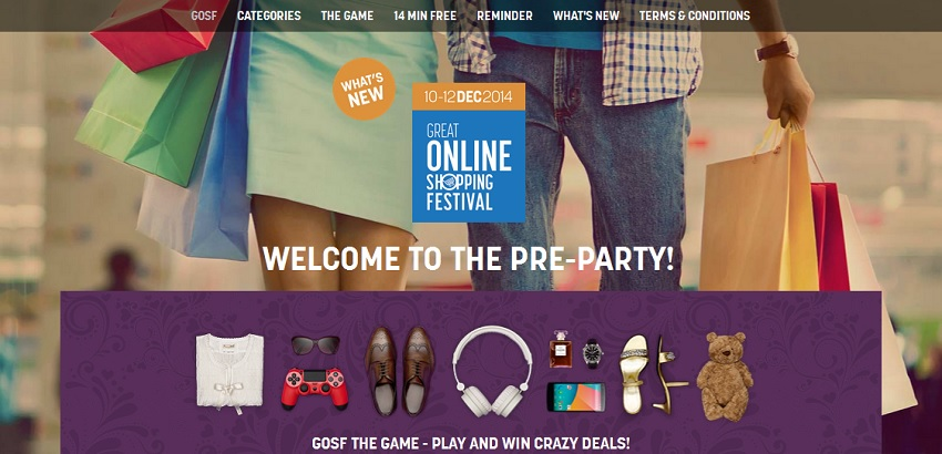 Great Online Shopping Festival India