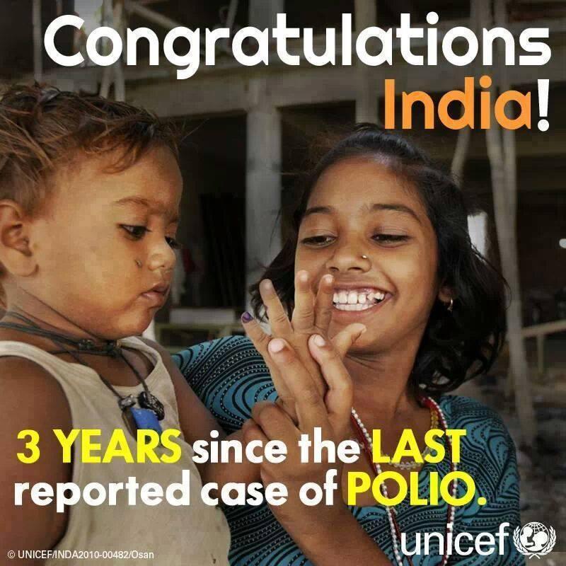 india polio free