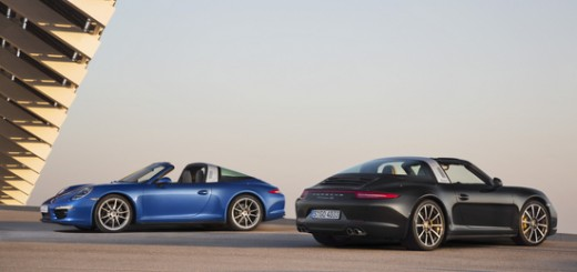 porsche 911 targa 4 and 4s