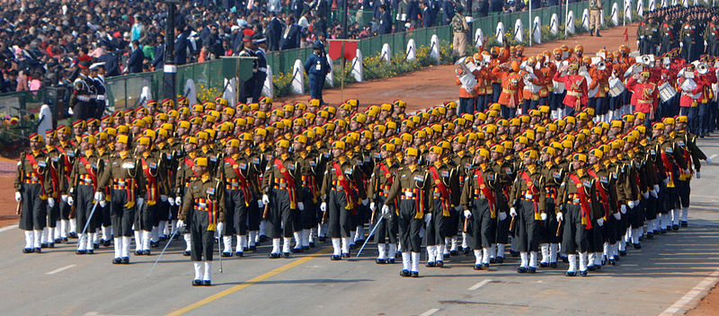 republic day parade India