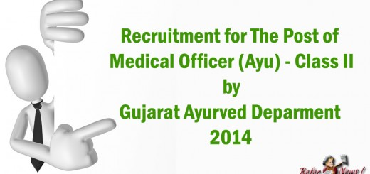 Medical Officer Ayurved Class 2 Job