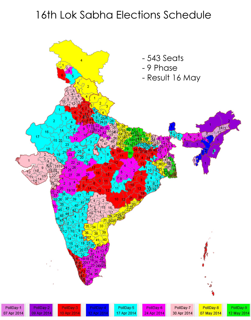 general election 2014 Disclaimer :- these reports are developed on the basis of information provided by chief electoral officers of states and uts.
