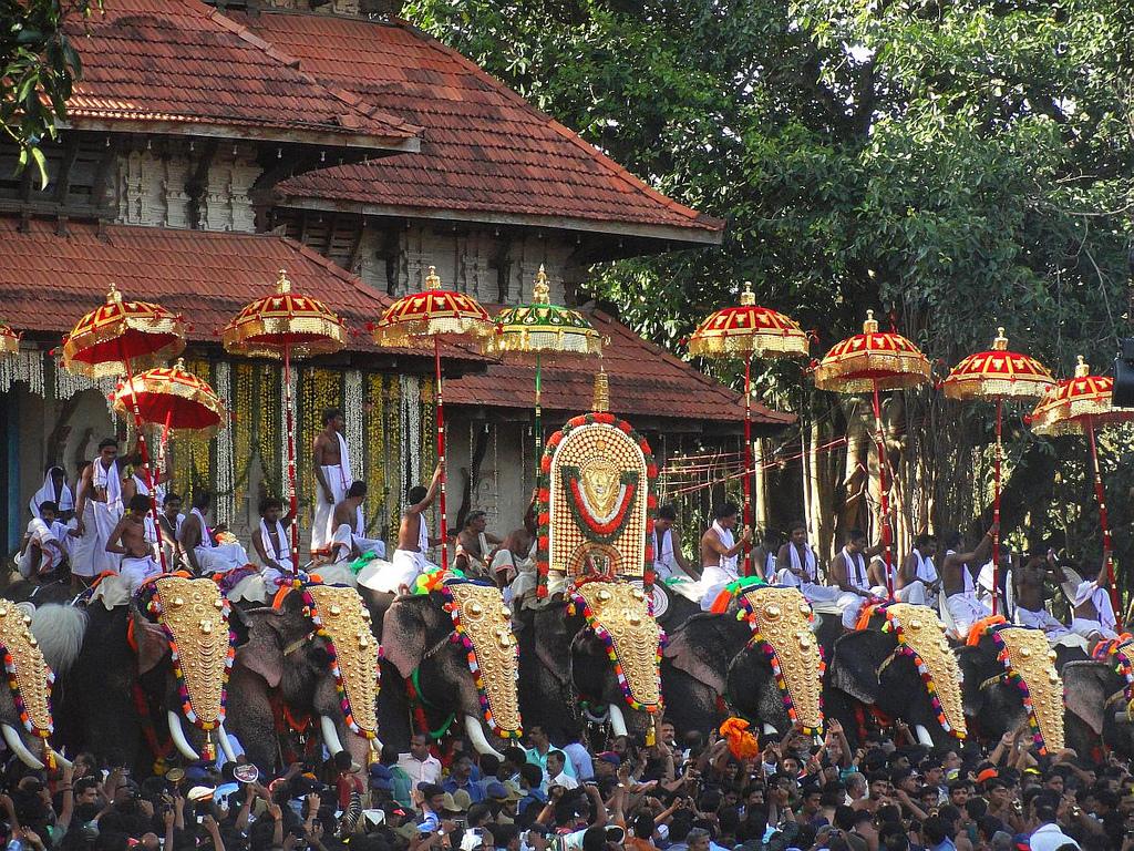 pooram festivals of kerala