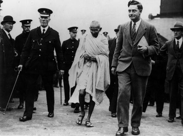 gandhi in britain