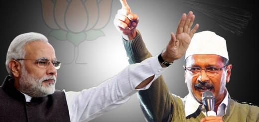 Arvind Kejriwal vs Narendra Modi