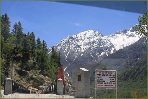 india china himachal border
