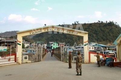 india myanmar mizoram border