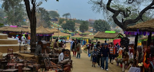 Surajkund Art fair in Faridabad