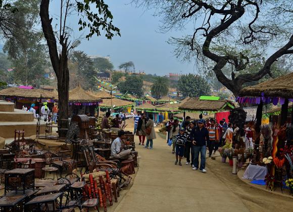 Surajkund Art fair in Faridabad