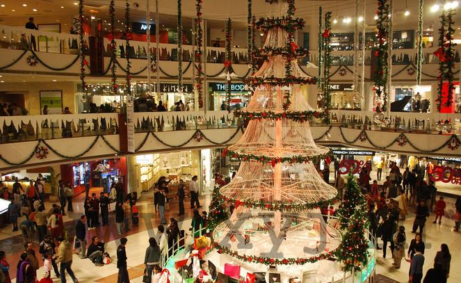 celebrate christmas in delhi