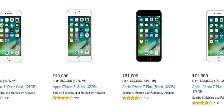 iPhone 7 plus sale in India