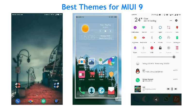 9 Best MIUI 9 Themes for Xiaomi Smartphone Users in 2018 (MIUI 9 5)