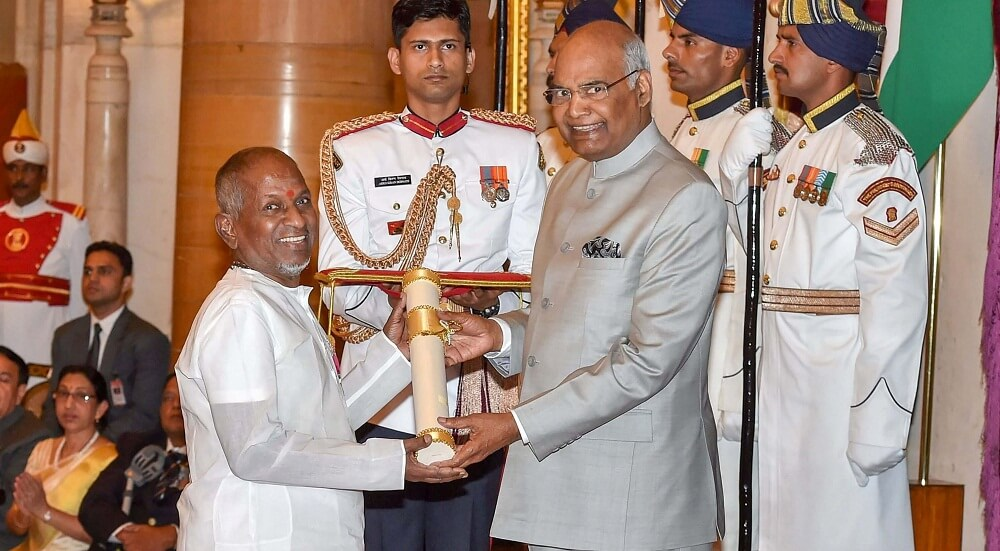 Music Director Ilaiyaraaja Padma Awards
